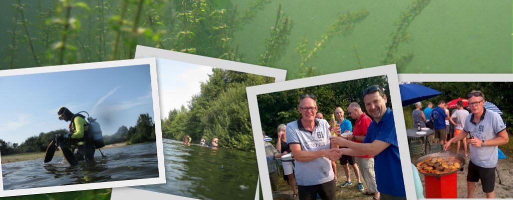 Fotoimpressie BBQ en duik